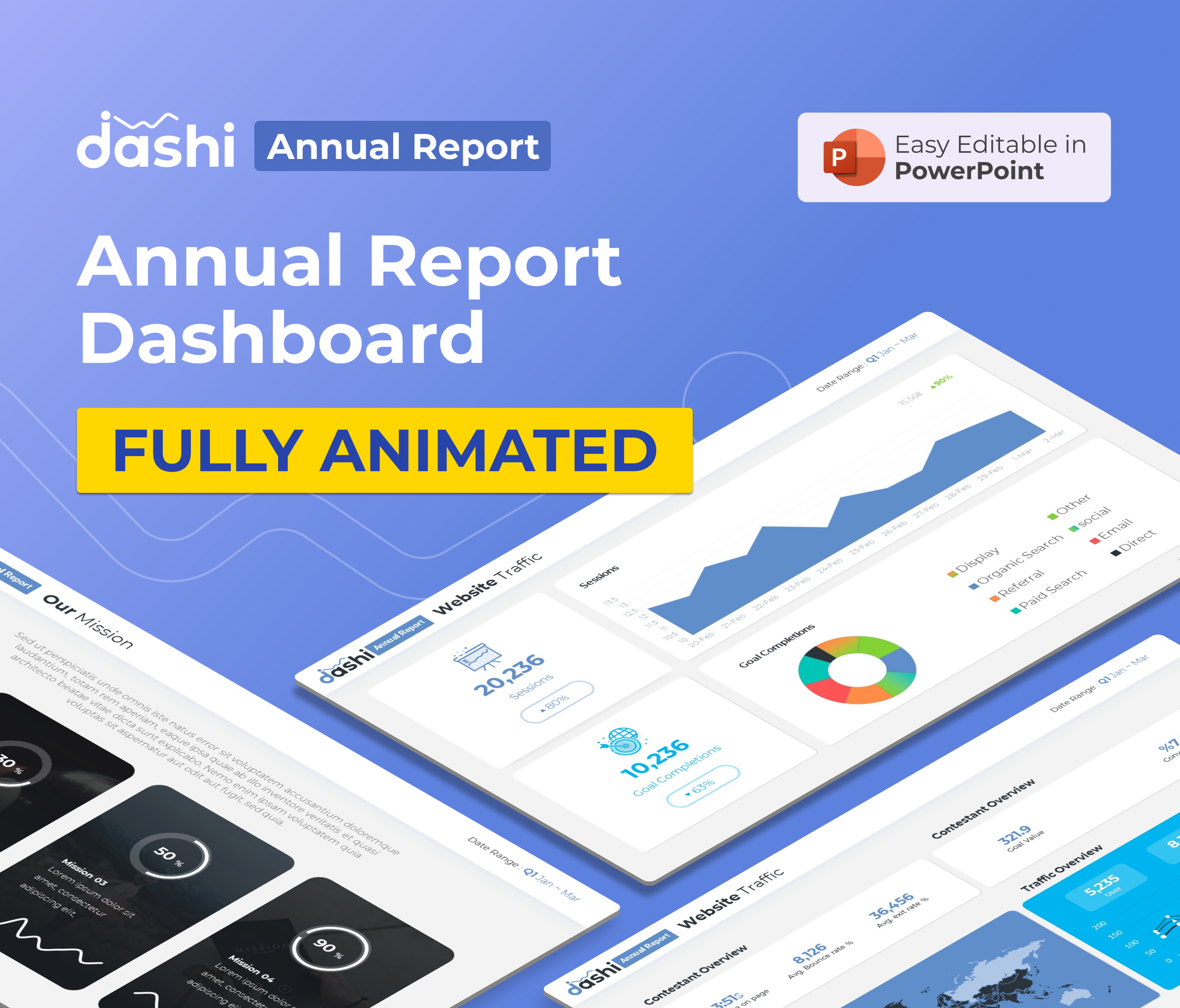 dashi Annual Report Presentation PPT