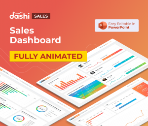 dashi Sales Dashboard Report PPT Presentation