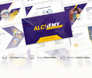 Alchemy – Esport Gaming PowerPoint Template