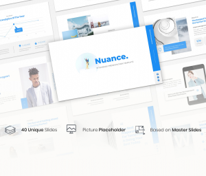 Nuance – Pitchdeck PowerPoint Template