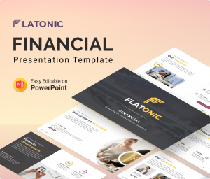 Flatonic – Financial PowerPoint Presentation Template