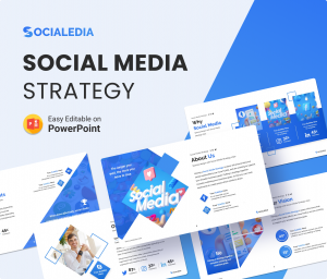 Socialedia – Social Media Strategy Presentation Template