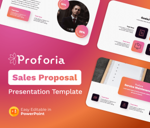 Proforia – Sales Proposal PowerPoint Presentation Template